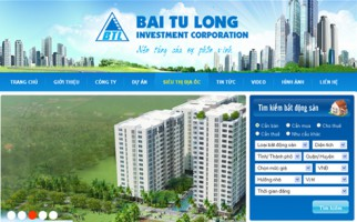 Báo giá thiết kế website bất động sản