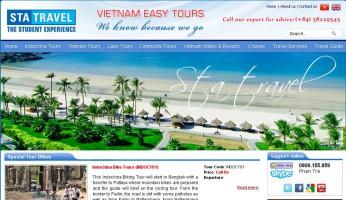 Báo giá thiết kế website du lịch