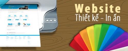 Báo giá thiết kế website in ấn, quảng cáo