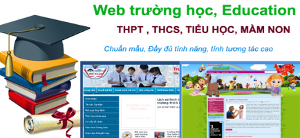 Báo giá thiết kế website trường học